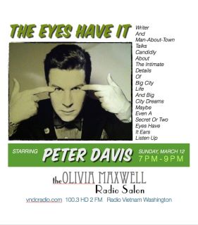 The eyes have it Peter Davis